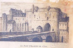 997. Le petit Chatelet en 1520