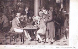 999. Boilly- La partie de dames au café Lamblin vers 1820