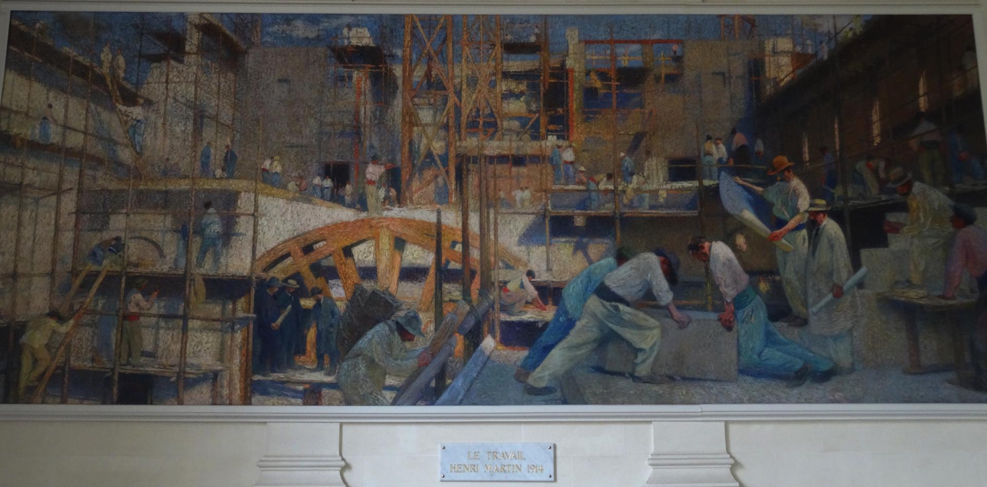 Henri Martin- Le travail