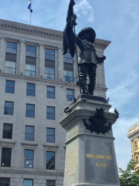 Paul de Maisonneuve#3-J.C Goulon-Place d'armes-Montréal