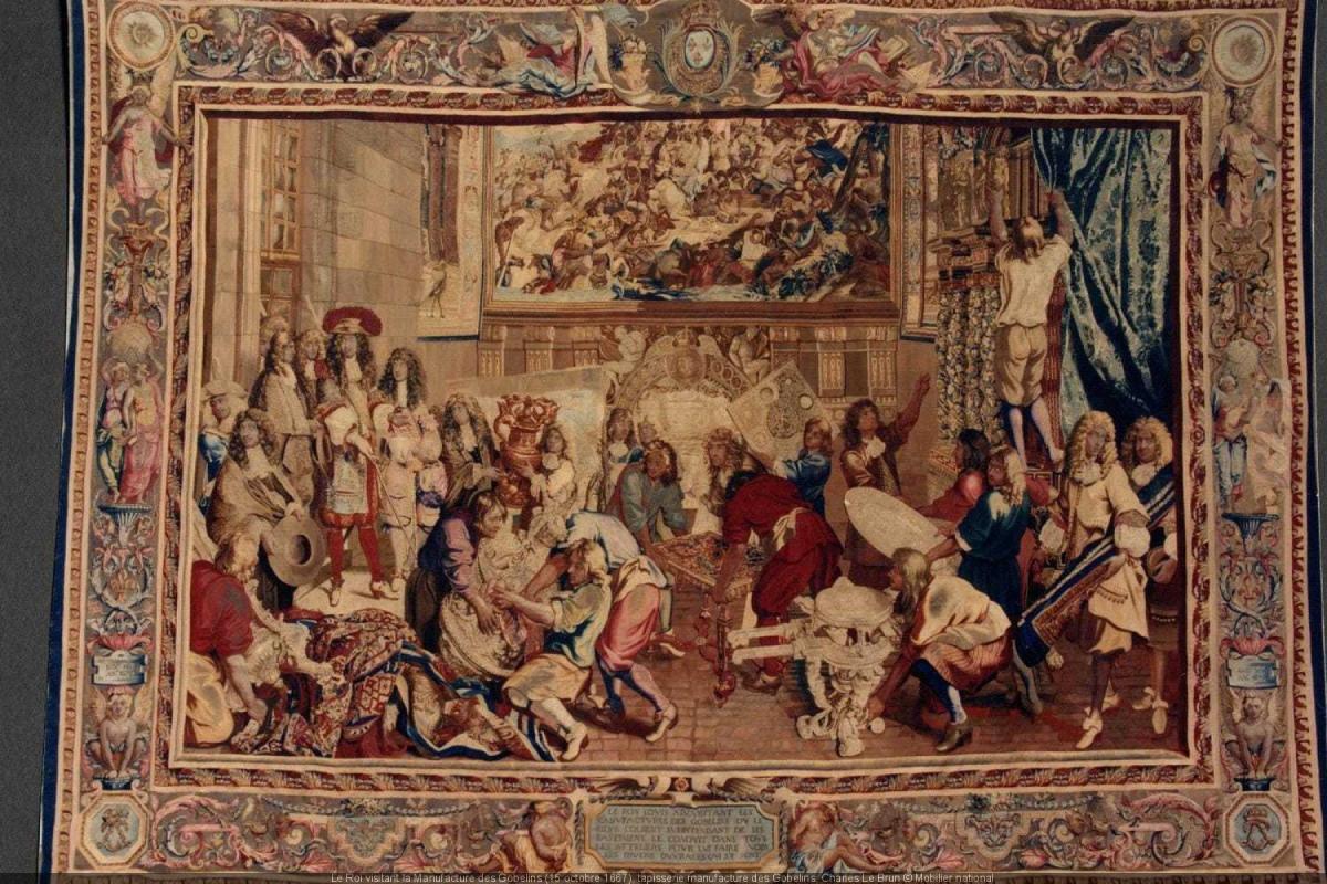 Exposition créer pour Louis XIV
