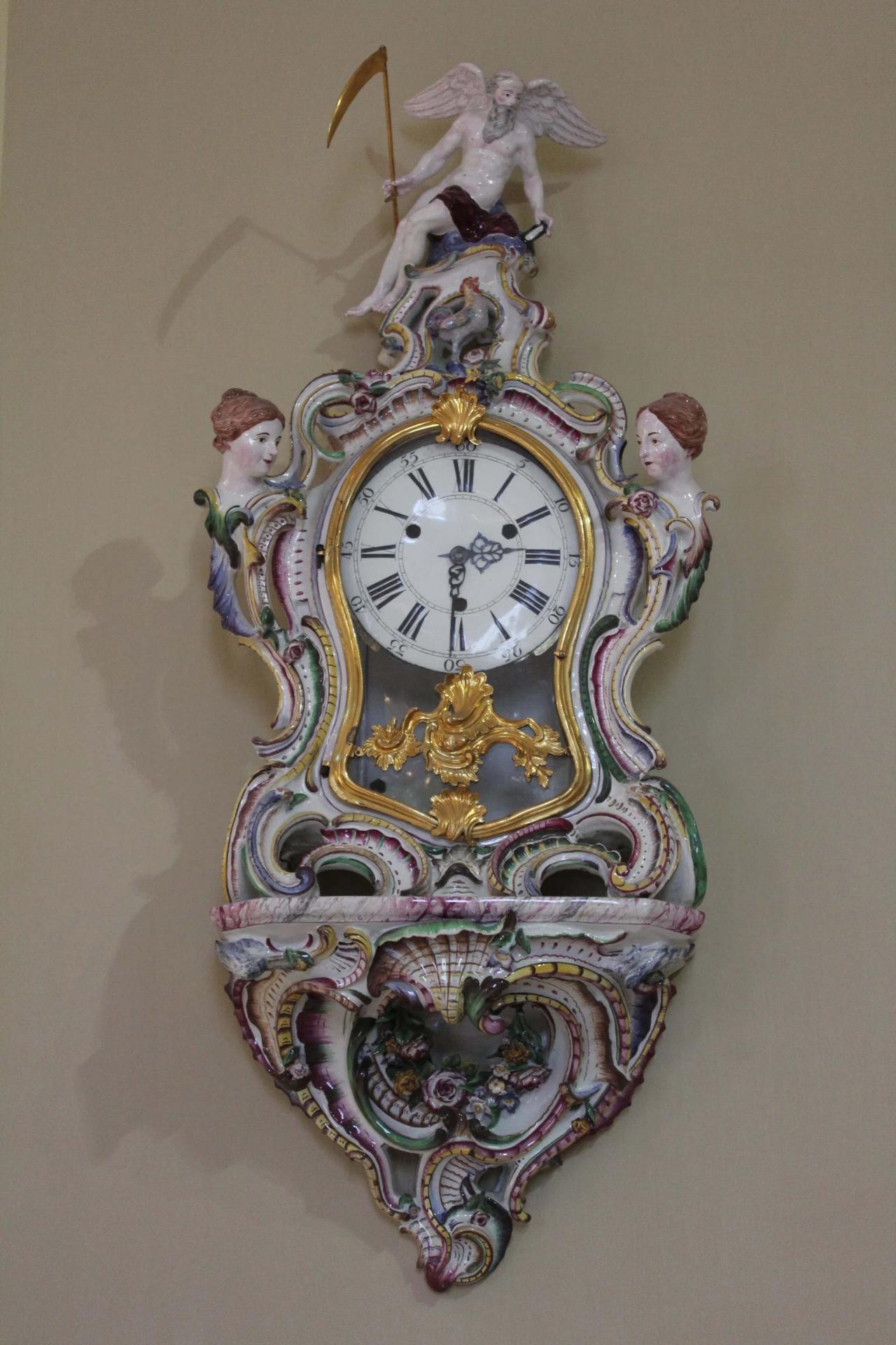 Horloge xviiie